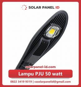 lampu pju solarcell 50watt murah