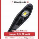 lampu pju solarcell 80watt