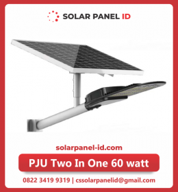 lampu pju solarcell two in one 60watt
