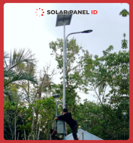 pju solarcell sorong papua barat