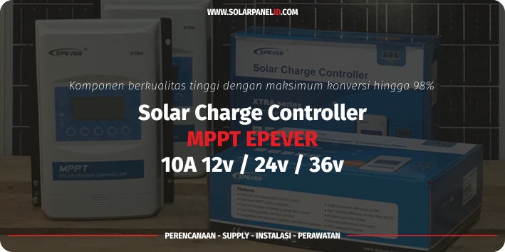 distributor solar charge controller epever mppt 10a