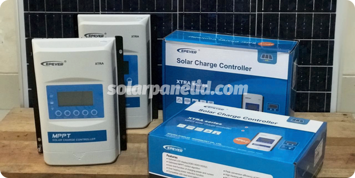 jual solar charge controller mppt solarcell 20A 12v 24v