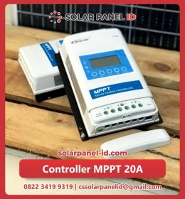 jual solarcell charge controller mppt epever 20a 12v 24v