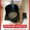 jual warning light tenaga surya 1 aspek 20 cm