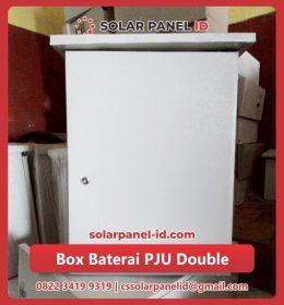 jual box double pju tenaga surya murah