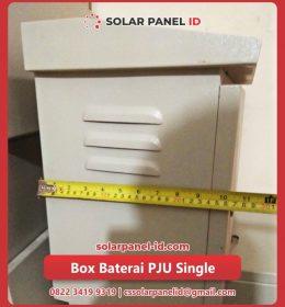 paket pju tenaga surya beserta box pju single