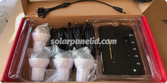 jual lampu sehen 8wp solarcell satu set lengkap murah
