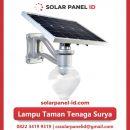 jual lampu taman tenaga surya 15 watt murah