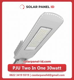 lampu pju solarcell two in one 30watt