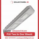 lampu pju solarcell two in one 50watt