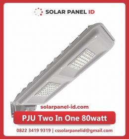 lampu pju solarcell two in one 80watt