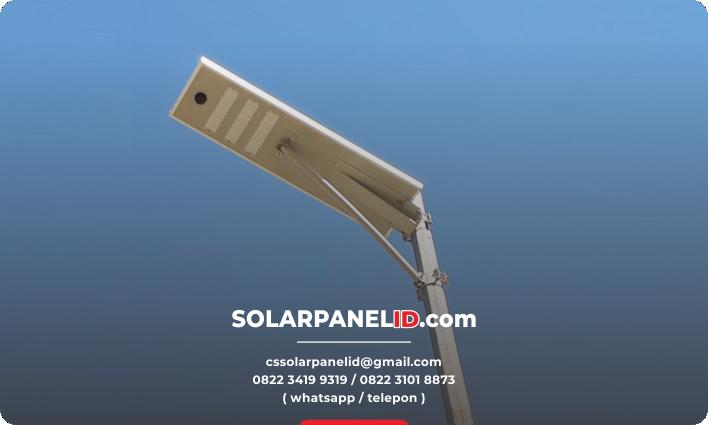 lampu pju solarcell all in one 30watt