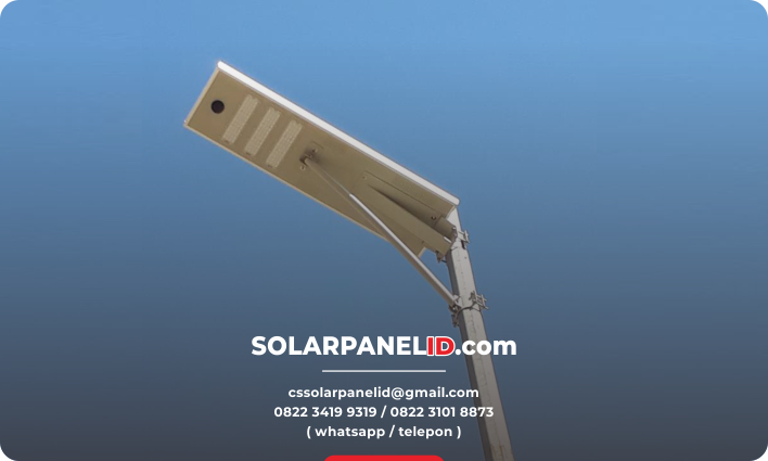 lampu pju solarcell all in one 40watt