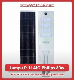 jual lampu pju all in one philips 80 watt