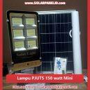 jual lampu pju tenaga surya 2in1 150 watt mini