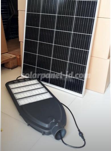 jual lampu pju tenaga surya 2in1 80watt murah