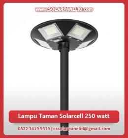 jual lampu taman solarcell 250 watt murah