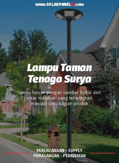 jual lampu taman tancap tenaga surya 250 watt murah surabaya
