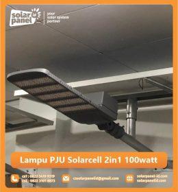 jual lampu pju solarcell 2in1