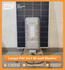 jual lampu pju 2in1 60 watt bluefire