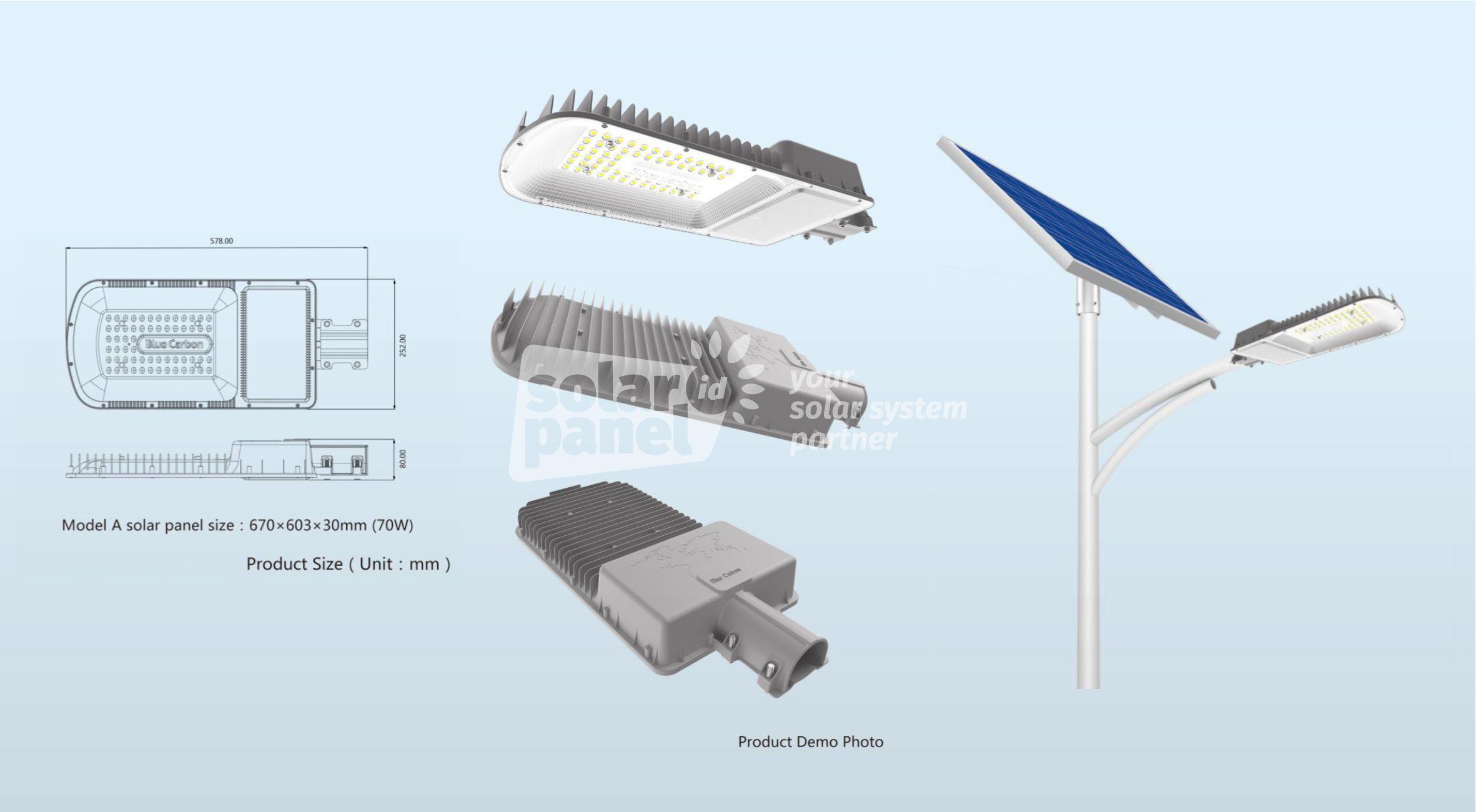 jual lampu pju 2in1 30 watt crossbow light bergaransi